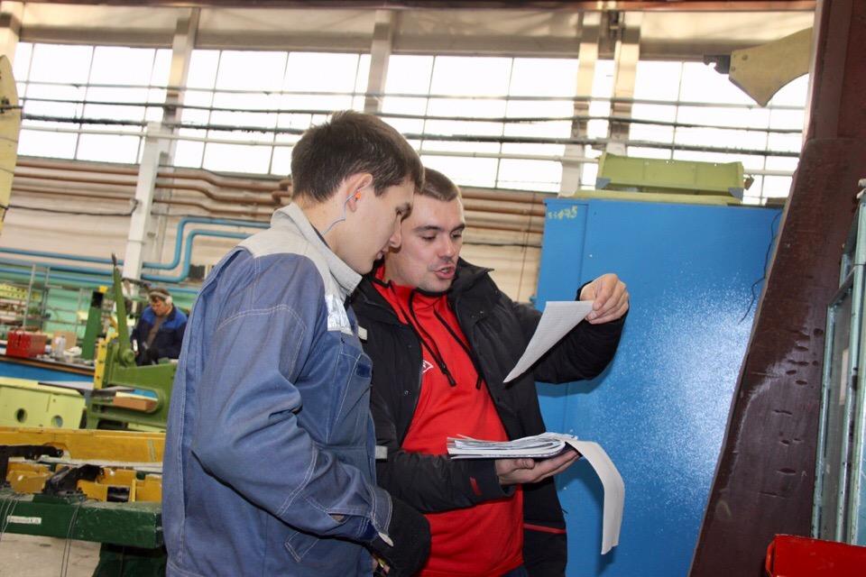 Реализация проекта «Молодые рабочие»