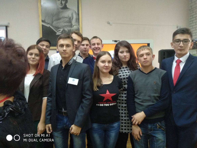 Студенты нашего техникума приняли активное участие в дискуссионной площадке «Мы разные, но мы вместе»