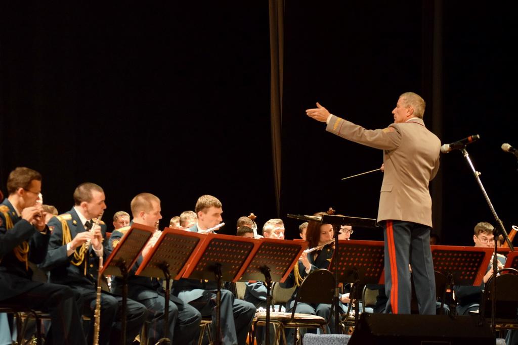 Концерт центрального военного оркестра Министерства обороны Российской Федерации
