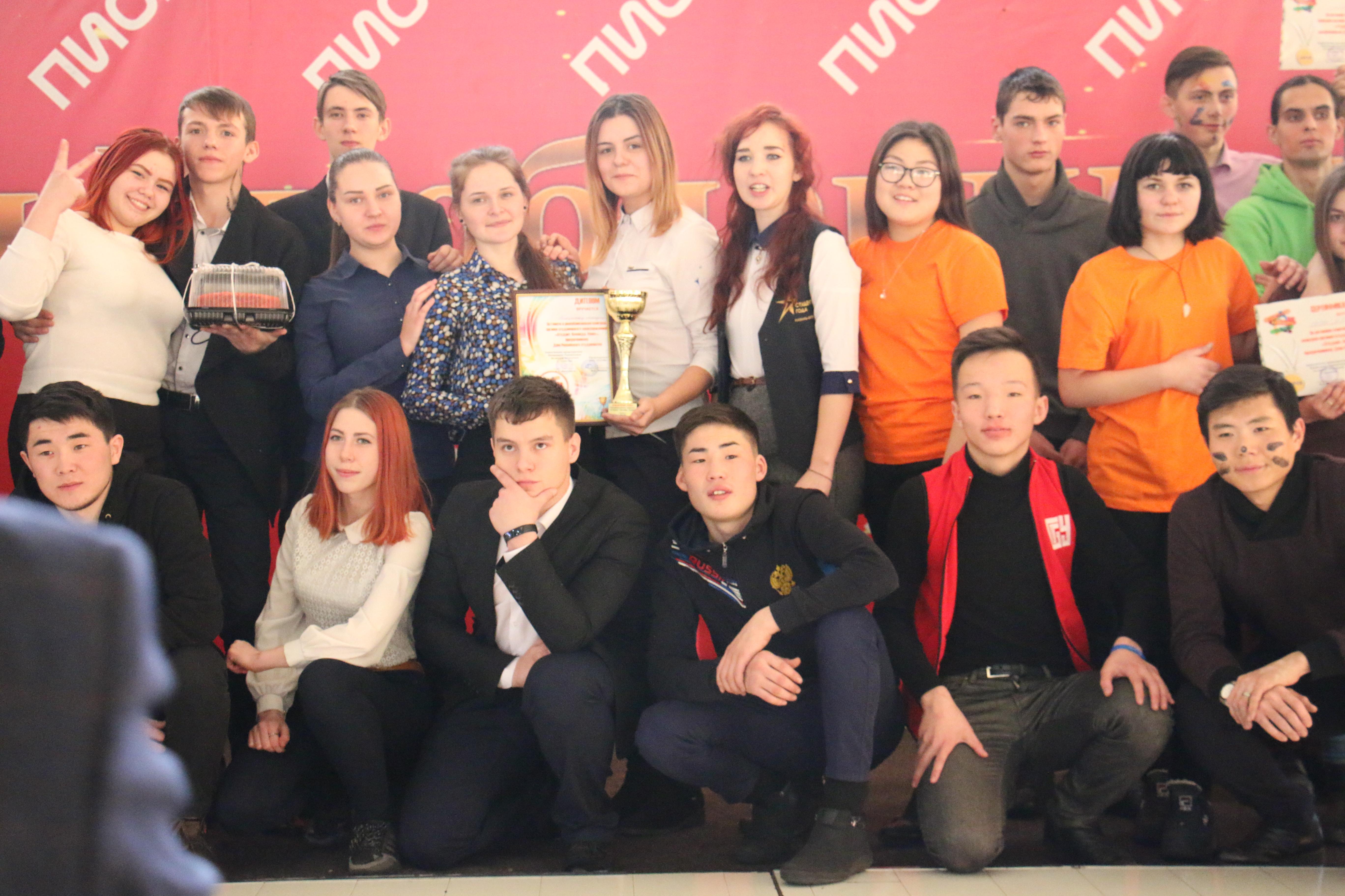 I место в республиканском конкурсе органов студенческого самоуправления