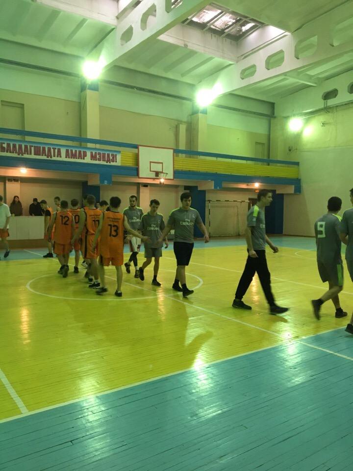 Соревнования по баскетболу среди команд юношей ССУЗов РБ