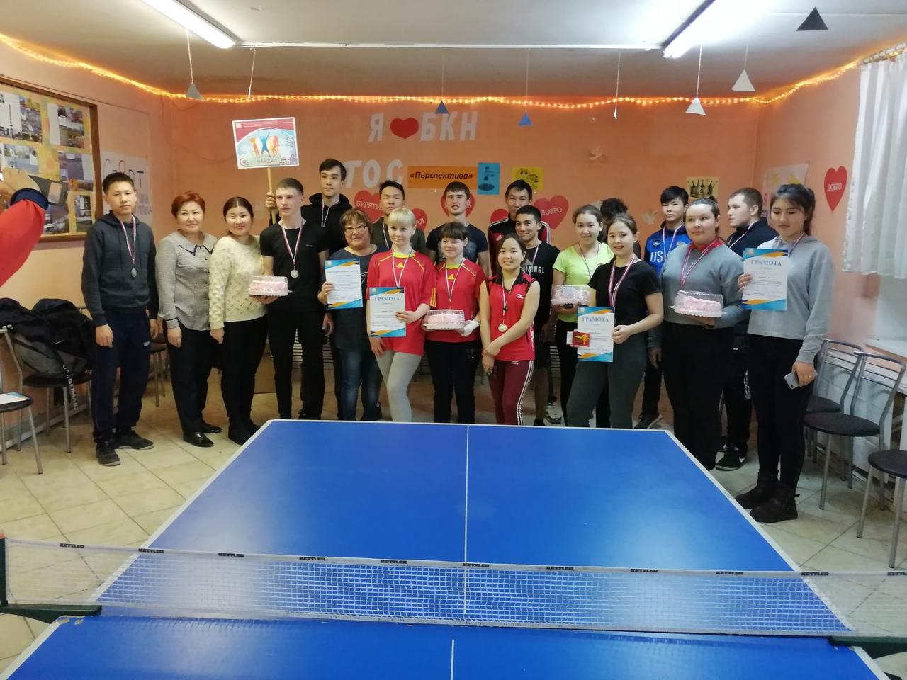 Традиционный турнир по настольному теннису!