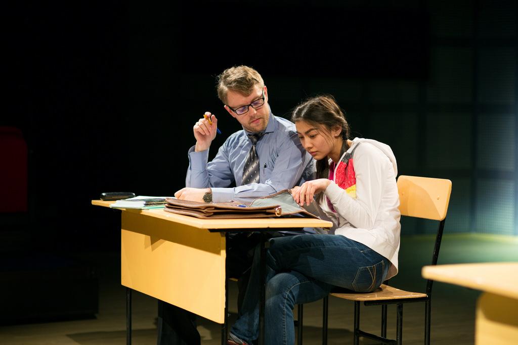 Культурный выход студентов на спектакль «Вдох-выдох»