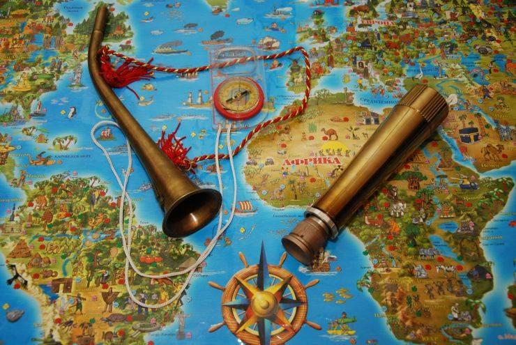 Квест по географии «Вокруг света»