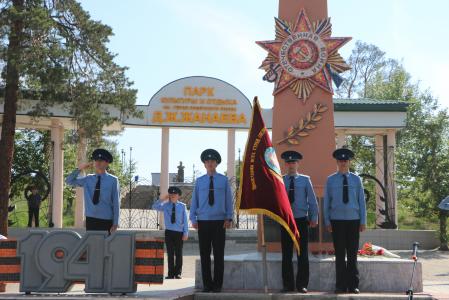 Наши студенты приняли участие в районном митинге, посвященном Дню памяти и скорби