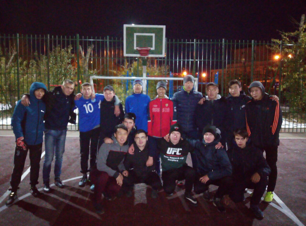АТ vs БКН. Соревнования по футболу.