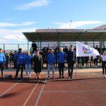 Открытие V юбилейного турнира по мини-футболу на кубок ГБПОУ «У-УАТ»